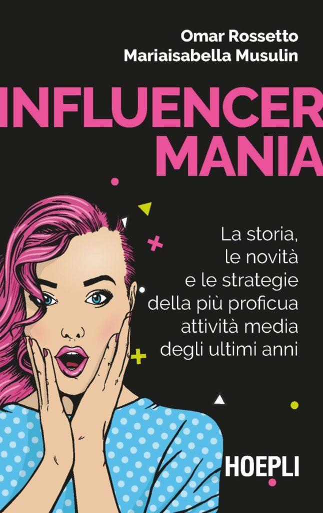 Copertina libro Influencer mania